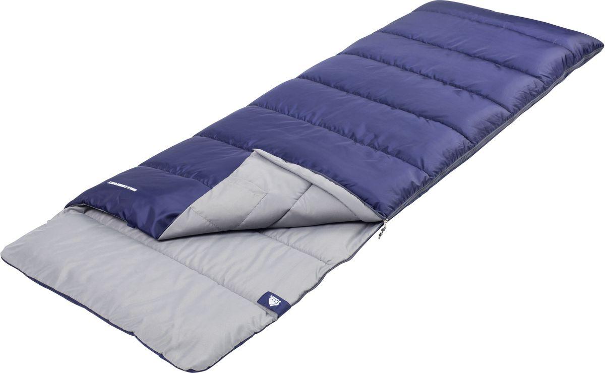 Спальный мешок TREK PLANET Avola Comfort, цвет: синий, левосторонняя молния70329-LКомфортный и очень удобный в использовании спальник-одеяло c подголовником TREK PLANET Avola Comfort предназначен для походов преимущественно в летний период, но сохранит уют и тепло даже при похолодании до +6 градусов! Этот спальник пригодится вам во время поездки на пикник, на дачу, во время туристического похода.ОСОБЕННОСТИ СПАЛЬНИКА:- Удобный плоский капюшон,- Увеличенная ширина - 85 см,- Термоклапан вдоль молнии,- Молния с левой стороны,- Внутренний карман,- Небольшой вес,- К спальнику прилагается чехол для удобного хранения и переноски.t° комфорт: 10°Ct° лимит комфорта: 6°Ct° экстрим: -5°C.Внешний материал: 100% полиэстерВнутренний материал: 100% полиэстерУтеплитель: Hollow Fiber 1 x 300 г/м2.Размер: (200+30) х 85 см.Размер в чехле: 25 х 25 х 38 см.Вес: 1,5 кг