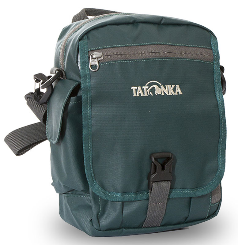 Сумка на плечо Tatonka  Check in Clip , цвет: темно-зеленый, 23 x 17 x 8 см - Сумки на пояс / плечо