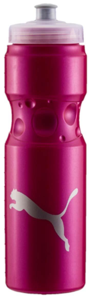 Бутылка для воды Puma Tr Bottle Sport, цвет: розовый. 05314503. 750 млVT-1520(SR)Эргономичная бутылка для воды с закручивающейся крышкой и герметичным клапаном с делениями на корпусе - отличный спутник твоих тренировок. У модели герметичный клапан, деления на корпусе бутылки и логотип бренда.