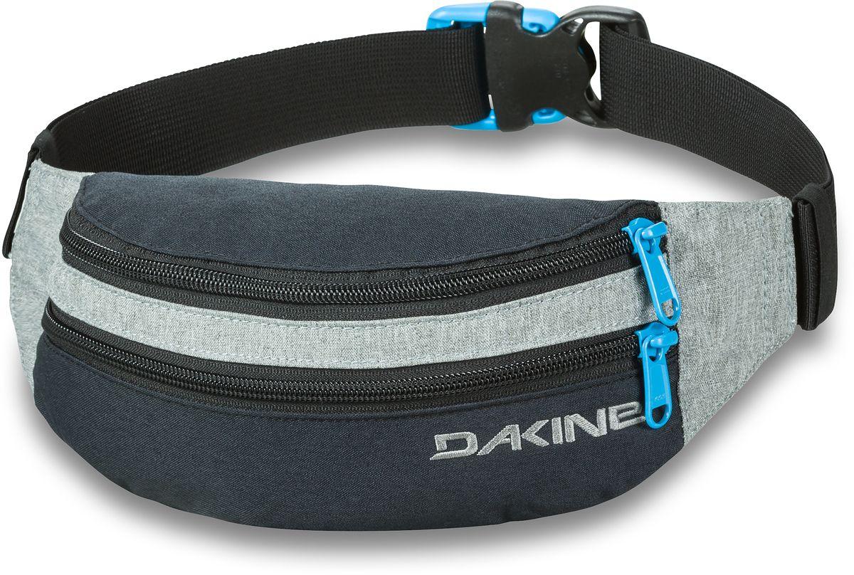 Сумка поясная Dakine  Classic Hip Pack , цвет: черный, серый, 0,6 л - Сумки на пояс / плечо