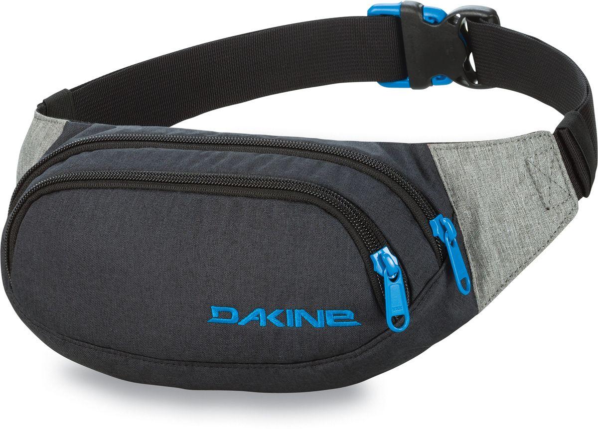 Сумка поясная Dakine  Hip Pack , цвет: темно-серый, серый, 0,6 л - Сумки на пояс / плечо