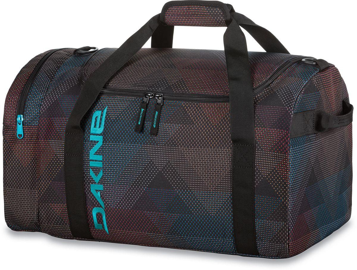 Сумка спортивная Dakine Eq Bag Stella, цвет: черный, 31 л. 8300483101225Спортивная сумка. С одним боковым карманом на молнии.