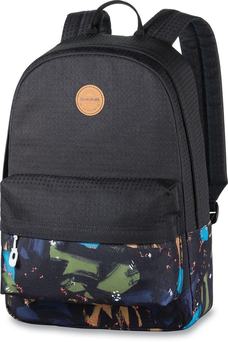 Рюкзак городской Dakine 365 Pack, цвет: черный, мультиколор, 21 лГризлиГородской рюкзак Dakine 365 Pack выполнен извысококачественного полиэстера, имеет вместительноеосновное отделение, в которое с легкостью помещаетсяпапка формата A4. В рюкзаке имеется встроенноеусиленное отделение для ноутбука и является отличнымвариантом для учебы и отдыха! Вместительный карманорганайзер с внутренним кармашком для телефона,фронтальный карман на молнии, два боковых кармана длянапитков или мелочей - максимальная функциональность.Идеально подходит для ежедневных прогулок иприключений.