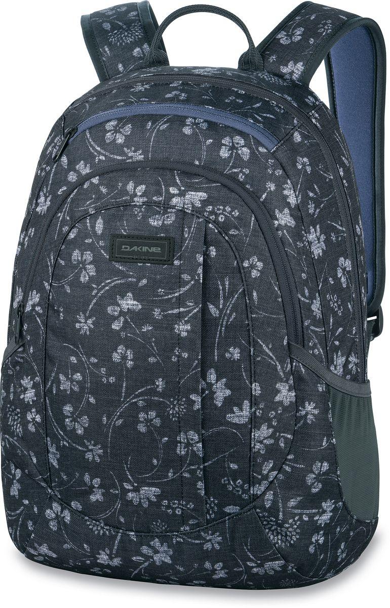 Рюкзак женский Dakine Garden, цвет: темно-серый, темно-синий, 20 л сумка для аксессуаров dakine accessory цвет темно синий мультицвет 0 3 л