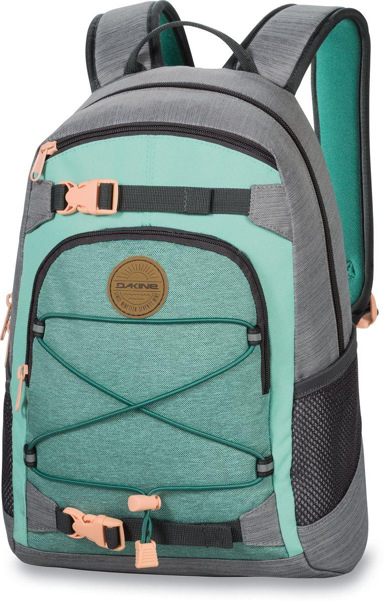 Рюкзак женский Dakine Grom, цвет: светло-зеленый, 13 л