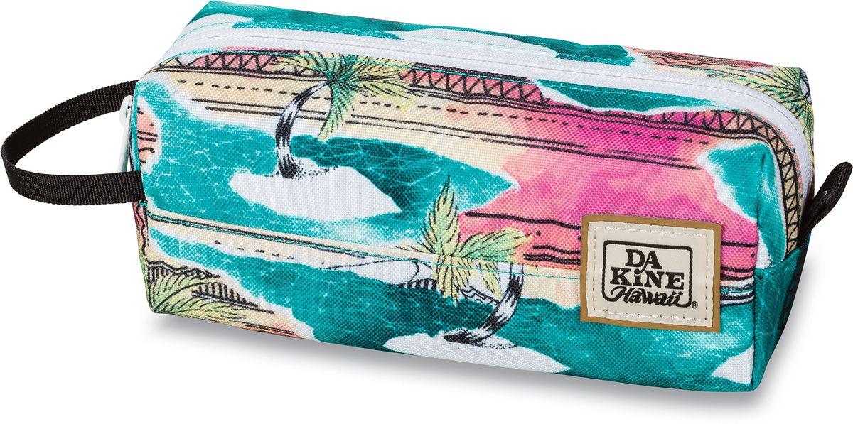 Сумка для аксессуаров женская Dakine  Accessory , цвет: бирюзовый, мультицвет, 0,3 л - Несессеры и кошельки