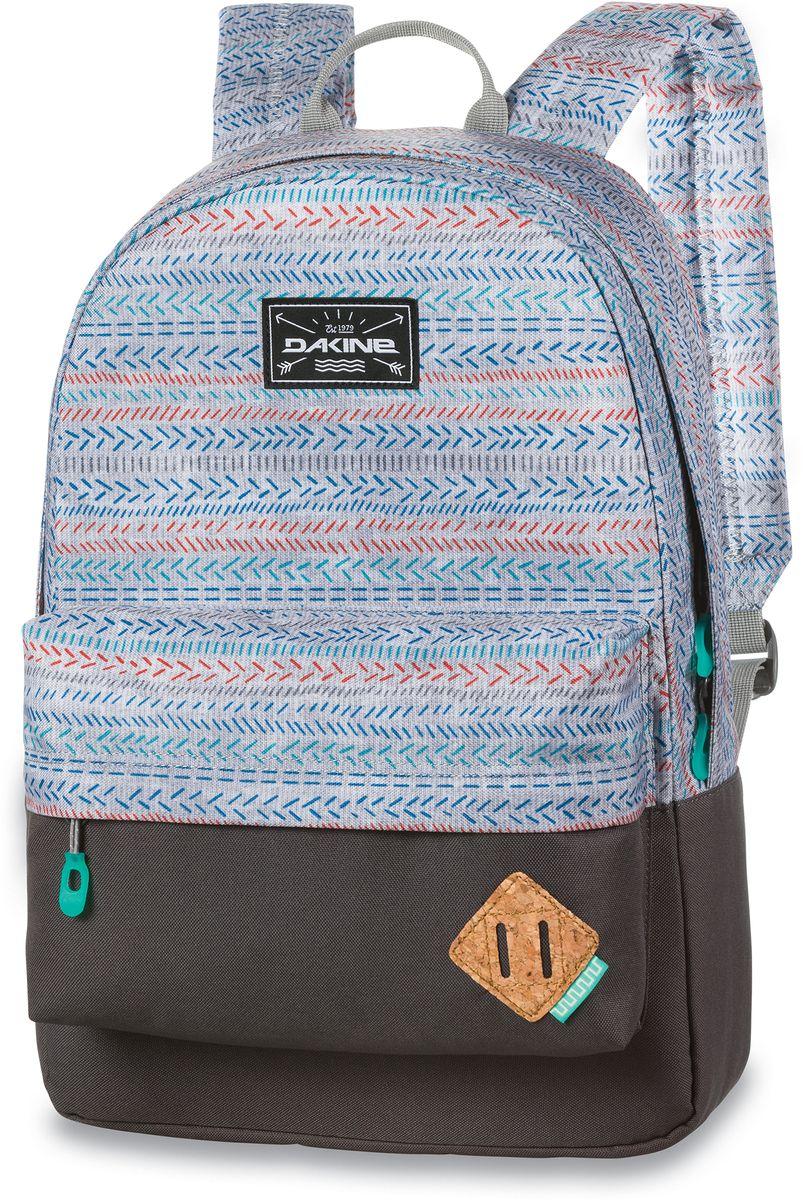 Рюкзак городской Dakine 365 Pack, цвет: светло-серый, коричневый, 21 л00127067 8130085Городской рюкзак Dakine 365 Pack выполнен извысококачественного полиэстера, имеет вместительноеосновное отделение, в которое с легкостью помещаетсяпапка формата A4. В рюкзаке имеется встроенноеусиленное отделение для ноутбука и является отличнымвариантом для учебы и отдыха! Вместительный карманорганайзер с внутренним кармашком для телефона,фронтальный карман на молнии, два боковых кармана длянапитков или мелочей - максимальная функциональность.Идеально подходит для ежедневных прогулок иприключений.