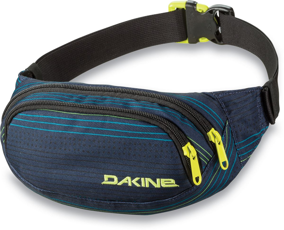 Сумка поясная Dakine  Hip Pack , цвет: темно-синий, мультиколор, 0,6 л - Сумки на пояс / плечо