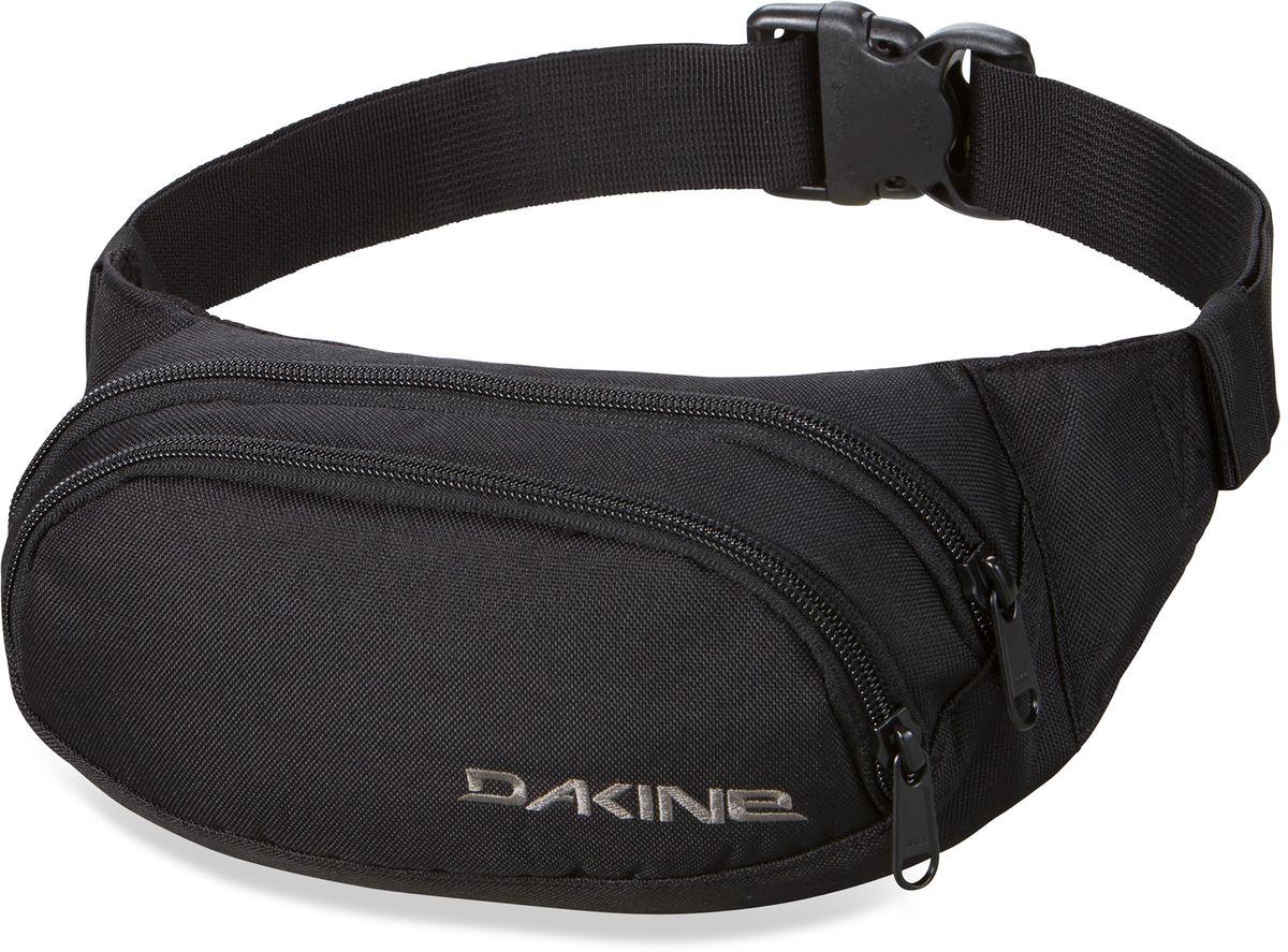 Сумка поясная Dakine  Hip Pack , цвет: черный, 0,6 л - Сумки на пояс / плечо