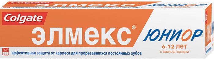 Colgate Детская зубная паста Элмекс Юниор, для детей 6-12 лет, 75 млSC-FM20104Зубная паста Элмекс Юниор укрепляет эмаль и защищает от кариеса вновь прорезавшиеся постоянные зубы. Предназначена для ежедневной гигиены полости рта детей в возрасте 6-12 лет с целью обеспечения длительной защиты от кариеса, снижения растворимости и укрепления зубной эмали. Товар сертифицирован.