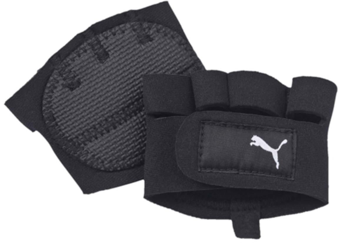 Перчатки для фитнеса Puma Training Grip Gloves, цвет: черный. 04123401. Размер L/X (11)59136601Специально разработанные для тренинга на перекладине и со штангой перчатки обеспечат оптимальный комфорт и амортизацию. Текстильная застежка поможет подобрать подходящий размер, а прорезиненная внутренняя сторона ладони создана для удобного захвата и предотвращения скольжения. У модели застежка velcro, прорезиненная внутренняя сторона ладони, фирменный логотип бренда.