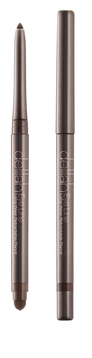 Delilah Карандаш для глаз тон Twig, 0,312 гр6Eye Line – это водостойкий карандаш для глаз со встроенной точилкой и спонжем для растушевки на другом конце. Карандаш имеет мягкую кремовую текстуру и насыщенный цвет, который красиво смотрится и держится 12 часов, не тускнея и не смазываясь. Мини-спонж для растушевки снимается и открывает доступ к встроенной точилке.