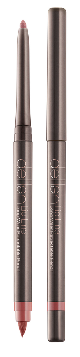 Delilah Карандаш для губ тон Naked, 0,312 гр00001313Lip Line – это водостойкий карандаш для губ со встроенной кисточкой и точилкой. Он имеет мягкую и нежную кремовую текстуру. Его интенсивный цвет держится на губах до 12 часов не смазываясь и не тускнея. Оба его оттенка близки к натуральному цвету губ, поэтому их можно использовать с помадой или блеском любого цвета. Кисточка на другом конце карандаша снимается для доступа к точилке.