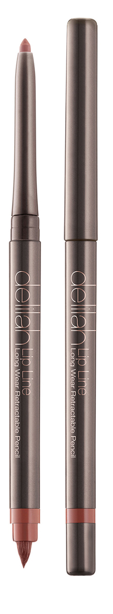 Delilah Карандаш для губ тон Secret, 0,312 грMFM-3101Lip Line – это водостойкий карандаш для губ со встроенной кисточкой и точилкой. Он имеет мягкую и нежную кремовую текстуру. Его интенсивный цвет держится на губах до 12 часов не смазываясь и не тускнея. Оба его оттенка близки к натуральному цвету губ, поэтому их можно использовать с помадой или блеском любого цвета. Кисточка на другом конце карандаша снимается для доступа к точилке.