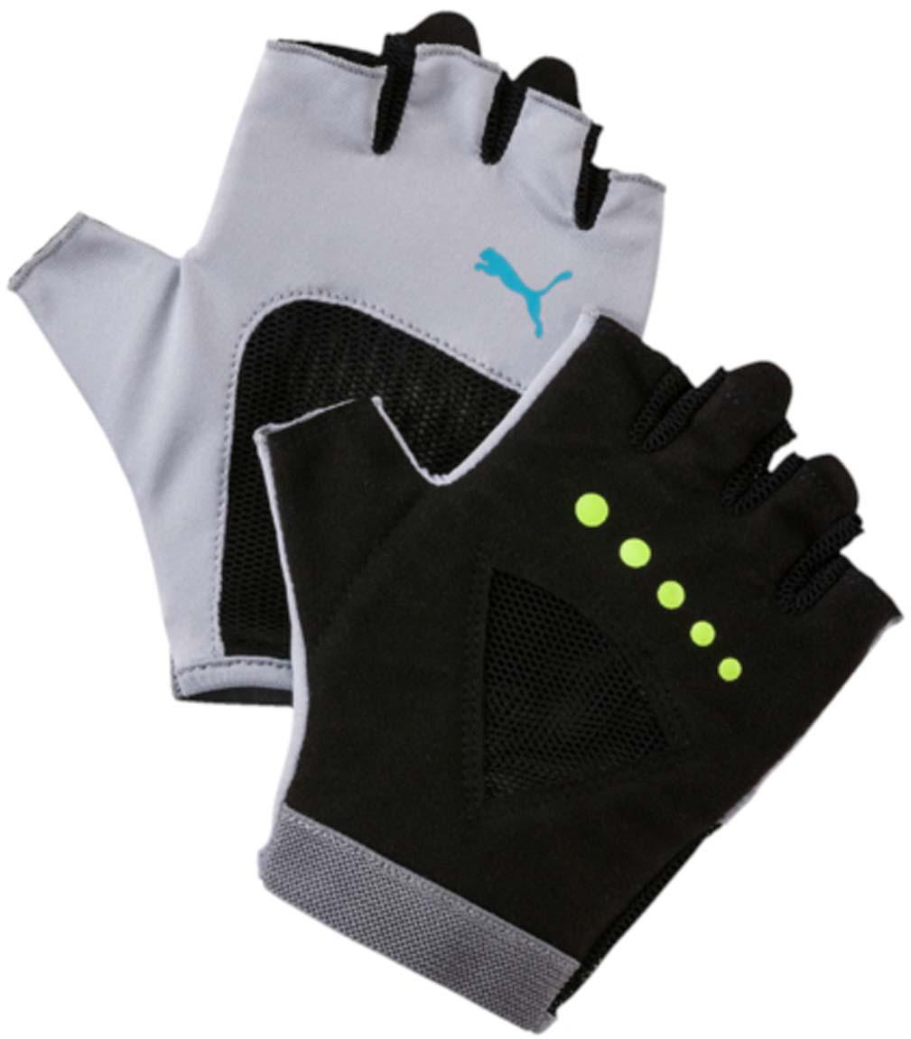 Перчатки для фитнеса женские Puma  Gym Gloves , цвет: светло-серый. 04126505. Размер M (9) - Одежда, экипировка