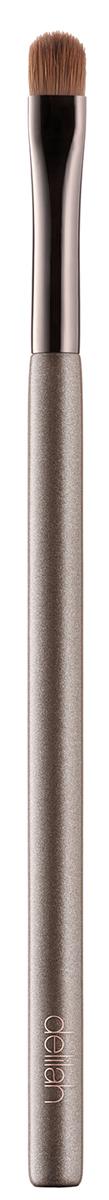 Delilah Кисть для теней плоская19-5009_фуксияЭта плоская куполообразная кисть сделана из натурального соболиного ворса. Ее форма была специально разработана для идеально четкого нанесения теней в складке века и на линии роста ресниц.