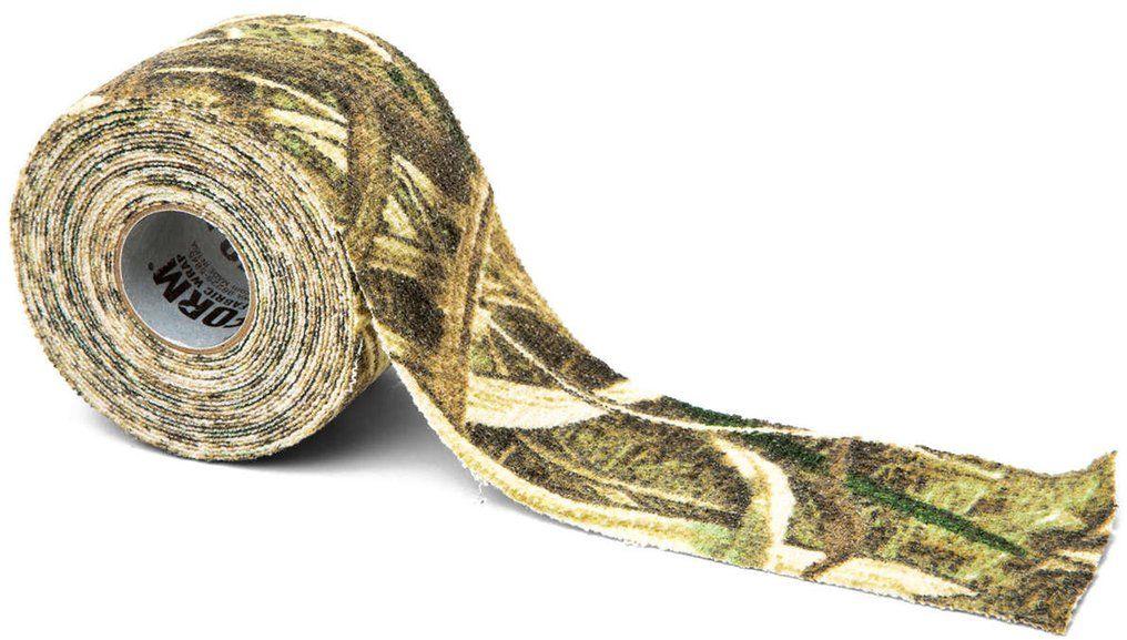 Камуфляжная лента McNett Камыш, многоразовая162Камуфляжная лента McNett применяется для защиты и маскировки ружей, оптических прицелов, биноклей, фонарей, ножей, фляг и другого снаряжения. Использование ленты позволяет избежать солнечных бликов от оружия, маскирует его, а также защищает от влаги, пыли, механических повреждений, царапин. Уменьшает шум при использовании и вероятность соскальзывания руки. Защищает руки от горячих и холодных поверхностей.Пропитанная латексом, эластичная лента прилипает ко всем поверхностям, прекрасно обтекая их. Прочный и тянущийся материал принимает любую форму, всегда оставаясь на месте.Лента без клейкой основы: при необходимости легко снимается, не оставляет липких следов. Лента может быть использована повторно, что позволяет менять окраску камуфлируемых предметов в зависимости от времени года и вида местности. Не теряет своих свойств в воде и при низких температурах. В экстренных случаях может заменить эластичный бандаж (бинт).Изделие изготовлено из материала, содержащего латекс, и не вызывает аллергических реакций.Ширина: 5 см.Длина: 3,66 м.Уважаемые клиенты!Обращаем ваше внимание, что точная раскраска ленты представлена на первом изображении. Дополнительные фото служат для визуального восприятия товара, на них приводится пример работы с лентой.