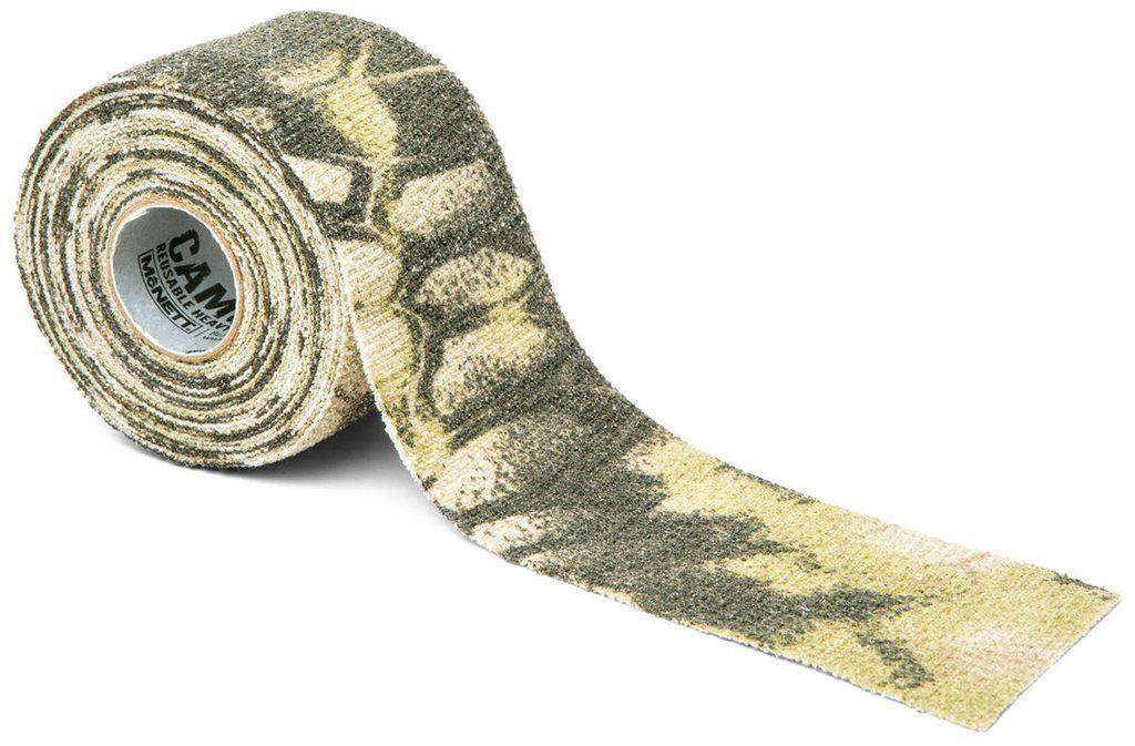 Камуфляжная лента McNett Kryptek Highlander162Камуфляжная лента McNett применяется для защиты и маскировки ружей, оптических прицелов, биноклей, фонарей, ножей, фляг и другого снаряжения. Использование ленты позволяет избежать солнечных бликов от оружия, маскирует его, а также защищает от влаги, пыли, механических повреждений, царапин. Уменьшает шум при использовании и вероятность соскальзывания руки. Защищает руки от горячих и холодных поверхностей.Пропитанная латексом, эластичная лента прилипает ко всем поверхностям, прекрасно обтекая их. Прочный и тянущийся материал принимает любую форму, всегда оставаясь на месте.Лента без клейкой основы: при необходимости легко снимается, не оставляет липких следов. Лента может быть использована повторно, что позволяет менять окраску камуфлируемых предметов в зависимости от времени года и вида местности. Не теряет своих свойств в воде и при низких температурах. В экстренных случаях может заменить эластичный бандаж (бинт).Изделие изготовлено из материала, содержащего латекс, и не вызывает аллергических реакций.Ширина: 5 см.Длина: 3,66 м.Уважаемые клиенты!Обращаем ваше внимание, что точная раскраска ленты представлена на первом изображении. Дополнительные фото служат для визуального восприятия товара, на них приводится пример работы с лентой.