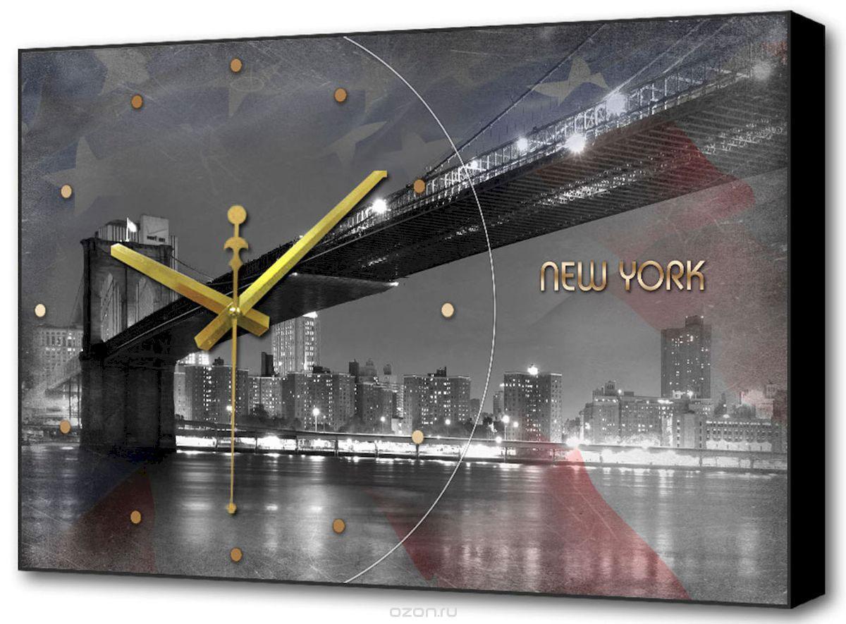 Часы-картина Toplight Город, 60 х 37 см. TL-C5026TL-C5026Настенные часы-картина Toplight Город выполнены из бумаги и оргалита, рама из МДФ. Часы имеют кварцевый механизм с плавным, бесшумным ходом и три стрелки: часовую, минутную и секундную. Современные технологии и цифровая печать, используемые в производстве, делают постер устойчивым к выцветанию и обеспечивают исключительное качество произведений. Благодаря наличию необходимых креплений в комплекте установка не займет много времени.Часы-картина Toplight - это прекрасная возможность создать яркий акцент при оформлении любого помещения.Правила ухода: можно протирать сухой, мягкой тканью. Часы работают от 1 батарейки типа АА (не входит в комплект).