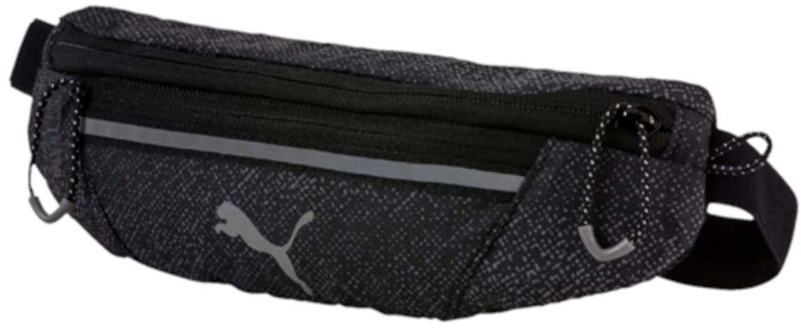Сумка на пояс Puma Pr Classic Waist Bag, цвет: серый. 07443705Хот ШейперсСпортивная сумка Puma Pr Classic Waist Bag выполнена из прочного текстиля. У модели одно отделение, застежка и внешний карман на молнии, один карман на липучке.