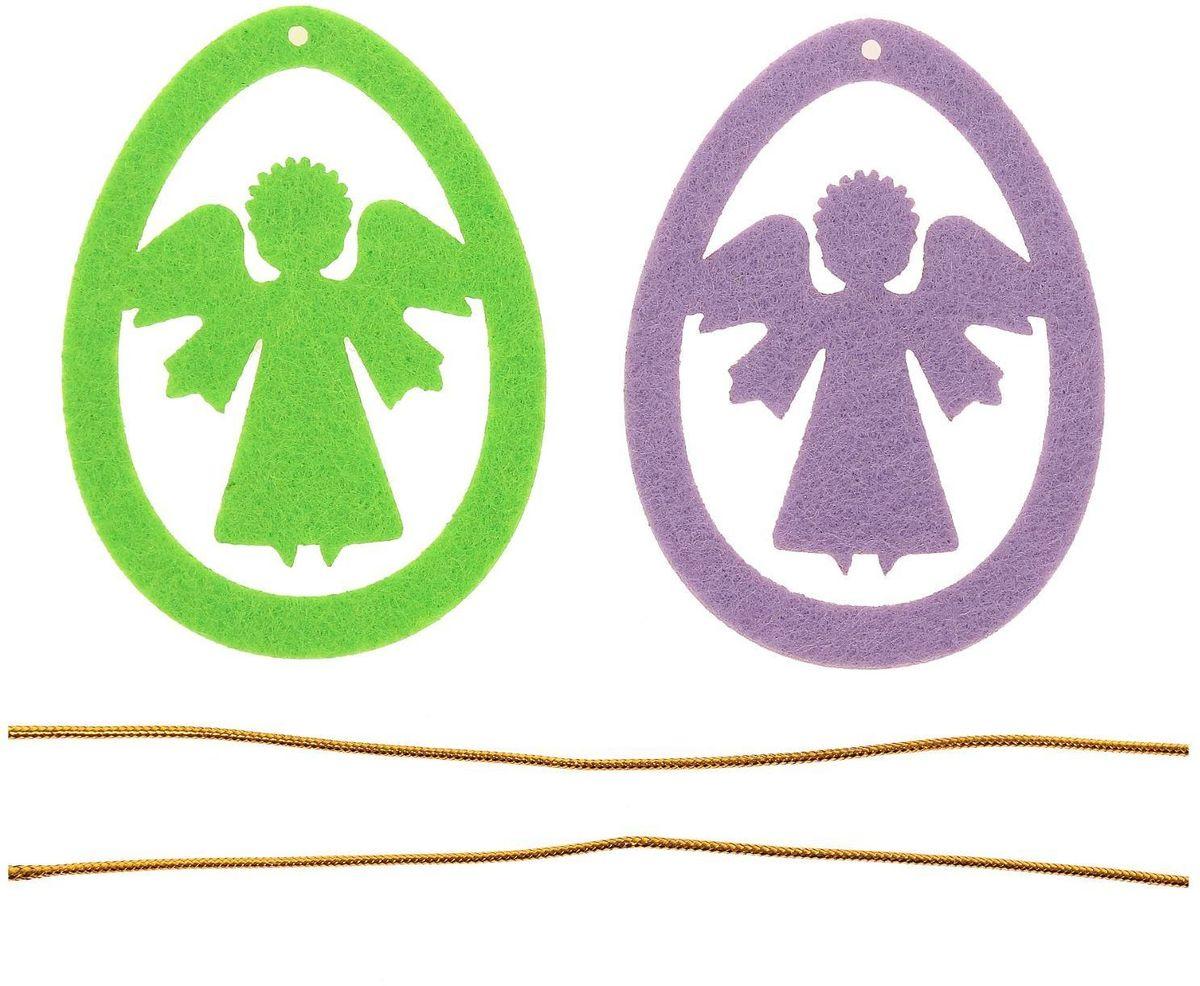 Набор пасхальных подвесок Sima-land Ангел, 8 см, 2 шт1.645-504.0Невозможно представить нашу жизнь без праздников! Мы всегда ждём их и предвкушаем, обдумываем, как проведём памятный день, тщательно выбираем подарки и аксессуары, ведь именно они создают и поддерживают торжественный настрой. Набор пасхальных подвесок Ангел - это отличный выбор, который привнесёт атмосферу праздника в ваш дом!