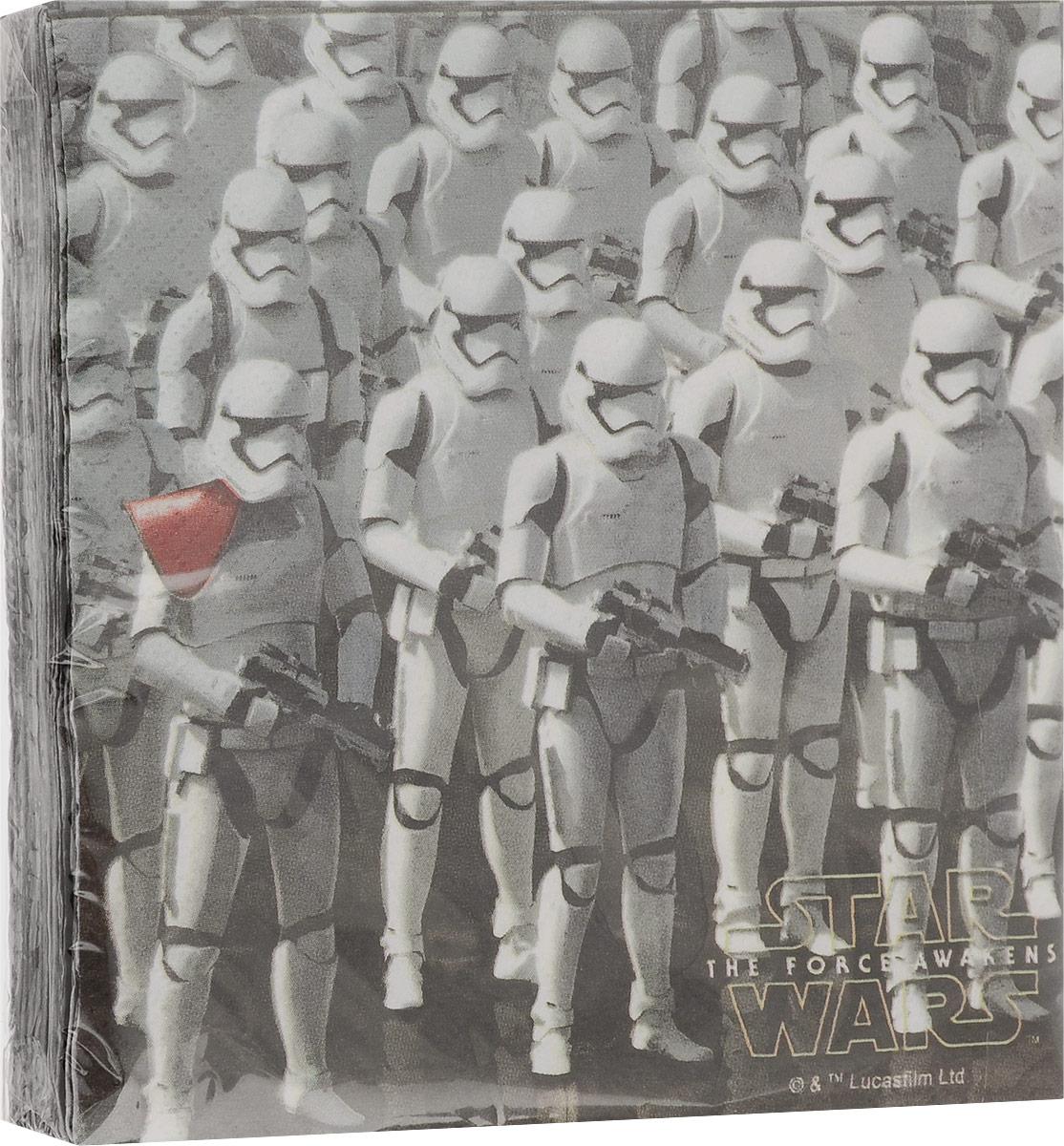 Procos Салфетки двухслойные Звездные войны 7 20 шт стол кремона 7