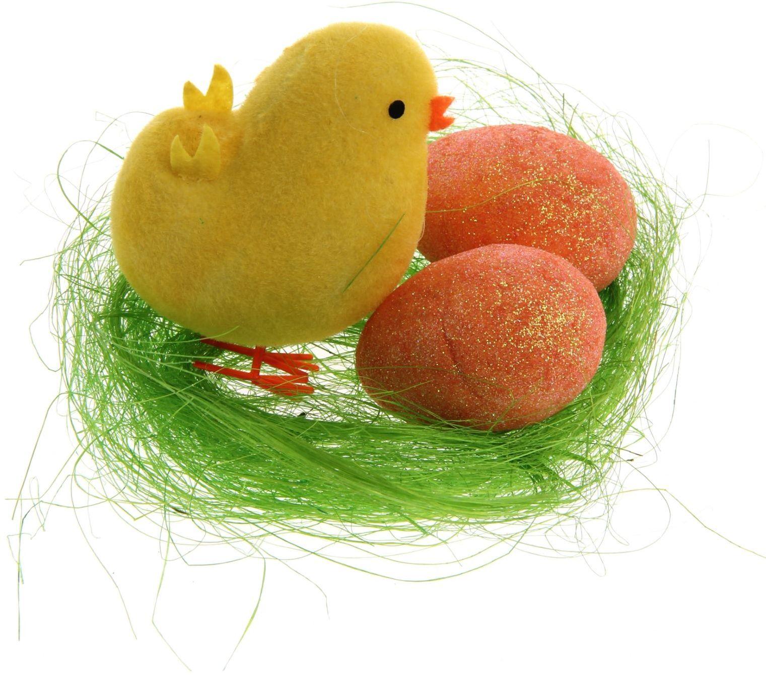 Сувенир пасхальный Sima-land Цыплёнок на травке, 6 х 6 х 10 см10850/1W GOLD IVORYДарить подарки на Пасху – это такая же традиция, как красить яйца и выпекать куличи. Презенты вдвойне приятнее, если они несут в себе сакральный смысл и имеют какое-то значение.Сувенир Цыплёнок на травке, цвета МИКС - это символ возрождения и непрерывности жизни. С его помощью вы сможете украсить жилище, преподнести его близкому человеку или использовать при сервировке стола всю пасхальную неделю. Кроме того, пасхальные цыплята нравятся маленьким деткам.