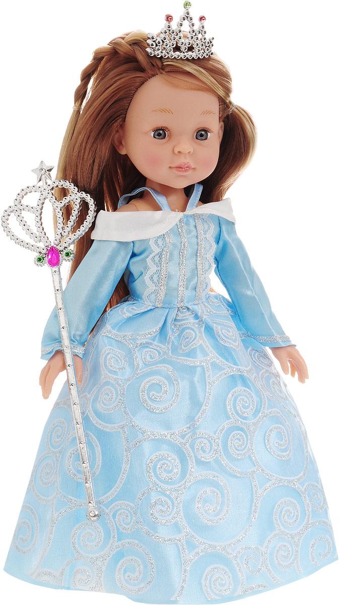 ABtoys Кукла Принцесса цвет платья голубой abtoys кукла зимняя фея сноусторм