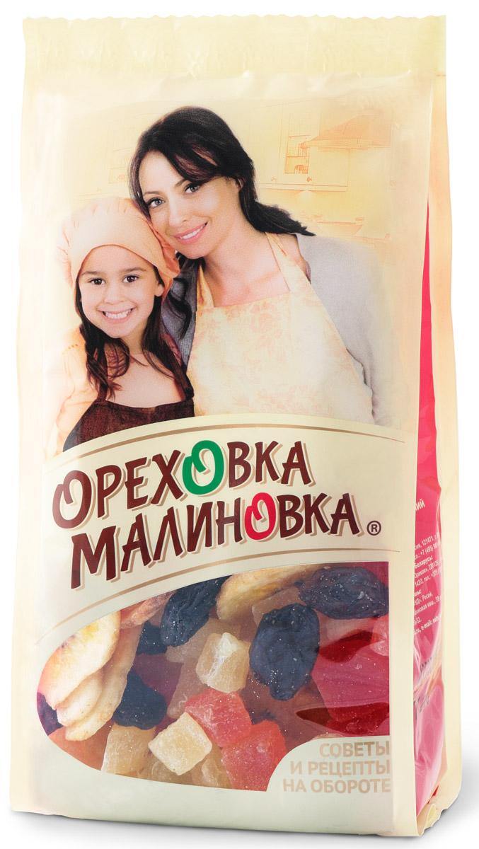 Ореховка-Малиновка смесьсладкая,190 г4620000679561Сладкие ананас и изюм с хрустящим миндалем прекрасно сочетаются при выпечке кексов. Превосходный аромат и изумительный вкус гарантированы.