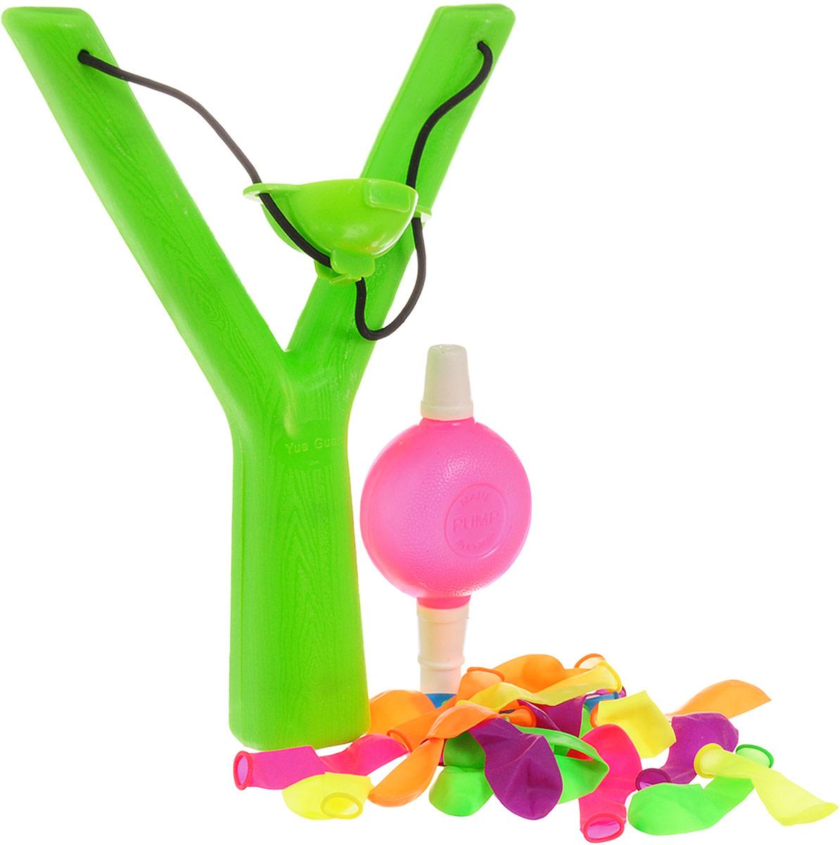 YG Sport Рогатка Водяные бомбочки цвет салатовый