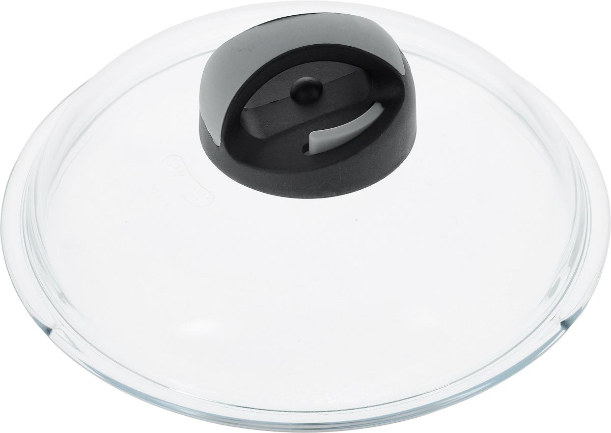 Крышка Ballarini Igloo. Диаметр 20 см115510Крышка Ballarini Igloo изготовлена из жаропрочного стекла и снабжена пластиковой ручкой с паровыпуском. Изделие удобно в использовании и позволяет контролировать процесс приготовления пищи. Крышка пригодна для мытья в посудомоечной машине.