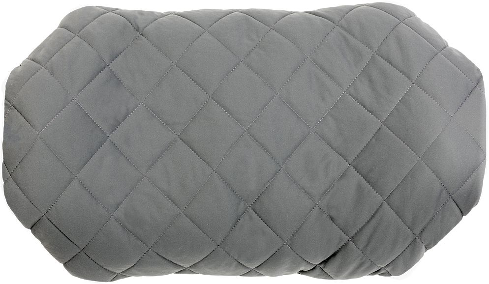 Надувная подушка Klymit Pillow Luxe Grey, цвет: серый - Подушки, пледы, коврики