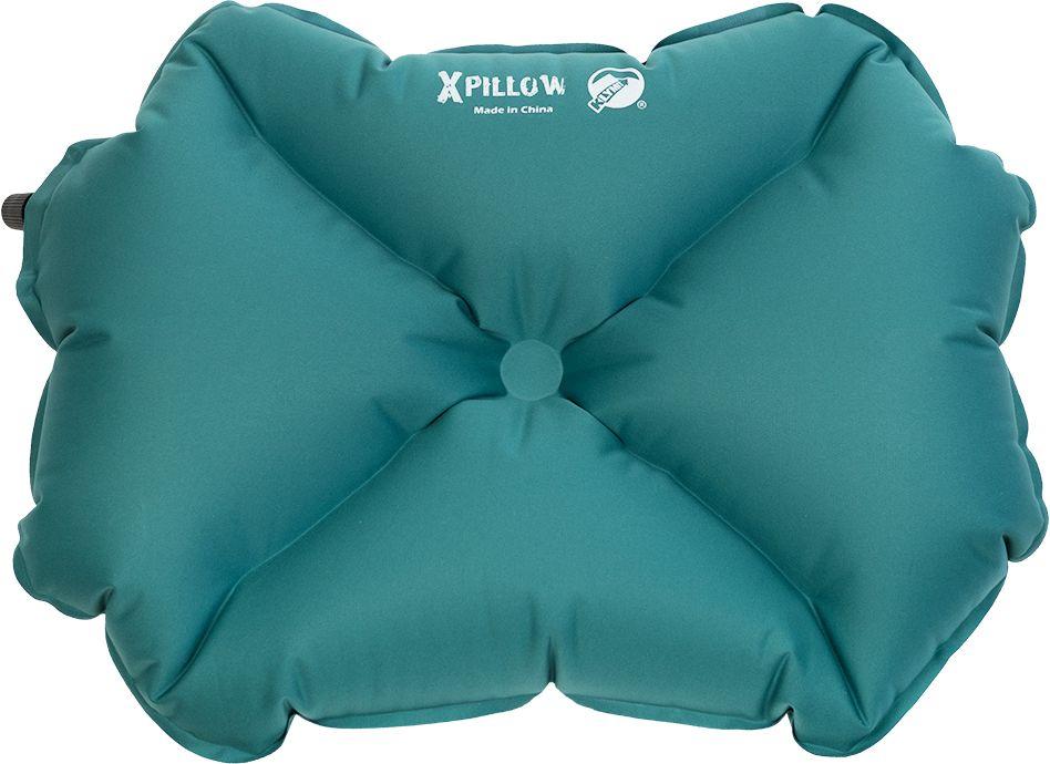 Подушка надувная Klymit Pillow X Large, цвет: зеленаяgmaxxIIЛегкая и компактная подушка Klymit Pillow X Large класса люкс для полноценного комфорта и отдыха в путешествии. X- направляющие фиксируют положение головы во время сна.Особенности: -Материал: ультрамягкий полиэстер 30D. -Надувается за 3-5 выдохов.-Размер: 56 х 32 х 14 см. Размер в сложенном виде: 8 х 10 см.Вес: 91 г.