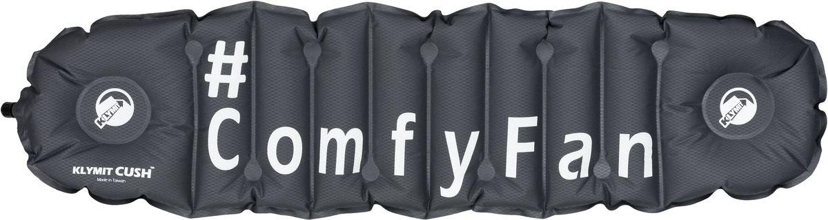 Надувная подушка/сиденье Klymit Cush ComfyFan, цвет: черный - Подушки, пледы, коврики
