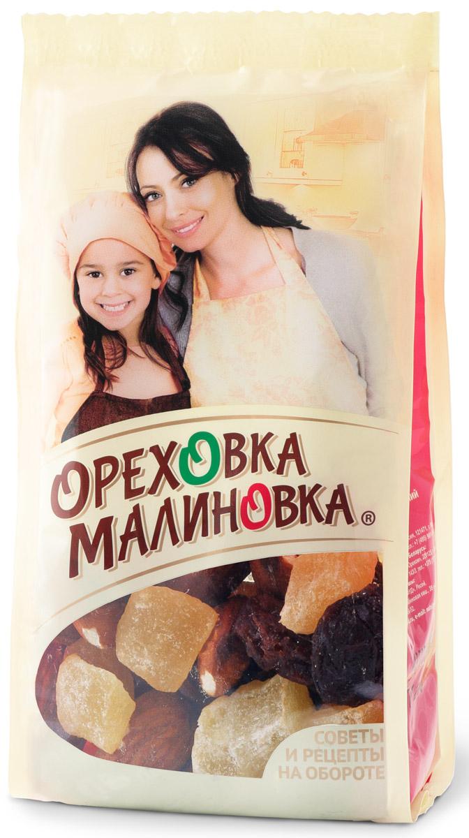 Ореховка-Малиновка смесьсладкая, 75гбрс001Сладкие ананас и изюм с хрустящим миндалем прекрасно сочетаются при выпечке кексов. Превосходный аромат и изумительный вкус гарантированы.
