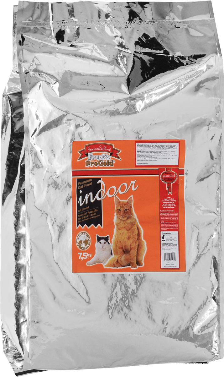 Корм сухой Franks ProGold для домашних и кастрированных кошек, с курицей, 7,5 кг101108004Franks ProGold - это премиум корм для кошек, широко известный по всей Европе. Полноценный сбалансированный корм разработан специально для домашних и кастрированных кошек. Не содержит пшеницы, соевых добавок, ГМО.Характеристики: Состав: дегидрированное мясо курицы, рис, маис, ячмень, жир домашней птицы, гидролизованная печень домашней птицы, гидролизованный белок, пищевая целлюлоза (мин. 5%), мякоть свеклы, минералы и витамины, дрожжи, яичный порошок, кукурузная мука, рыбий жир, фруктоолигосахариды (мин. 0,5%), лецитан (мин. 0,5%), экстракт юкки, холинхлорид, карбонат кальция, дегидрированное мясо домашней птицы, хлорид натрия, таурин, витамин Е, витамин C. Пищевая ценность: белки 28,0%, жиры 14,0%, клетчатка 5,5%, зола 6,5%, влажность 8,0%, фосфор 1,0%, кальций 1,1%, натрий 0,6%, магний 0,09%. Добавки на 1 кг: Витамин-A 22000 МЕ/кг, витамин-D3 2000 МЕ/кг, витамин-E 400 мг/кг, витамин-C 40 мг/кг, медь (сульфат меди пентагидрат) 2,8 мг/кг, таурин 1600 мг/кг, холина хлорид 2500 мг/кг, лецитин 5 г/кг. Калорийность на 100 г: 350 ккал. Товар сертифицирован.