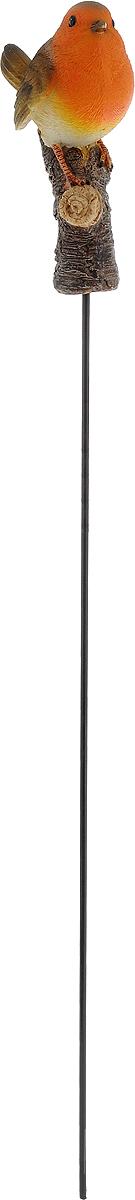 Фигурка декоративная Elsa Снегирь, садовая, 8 х 4,8 х 13 см691101Фигурка Elsa Снегирь, выполненная из полистоуна, предназначена для декоративного оформления дома и сада. Фигурка позволит создать правдоподобную декорацию и почувствовать себя среди живой природы.Фигурка Снегирь станет отличным подарком вашим друзьям и близким.В комплекте к фигурке прилагается металлический штырь, с помощью которого можно установить фигурку в саду.Длина штыря: 49 см.