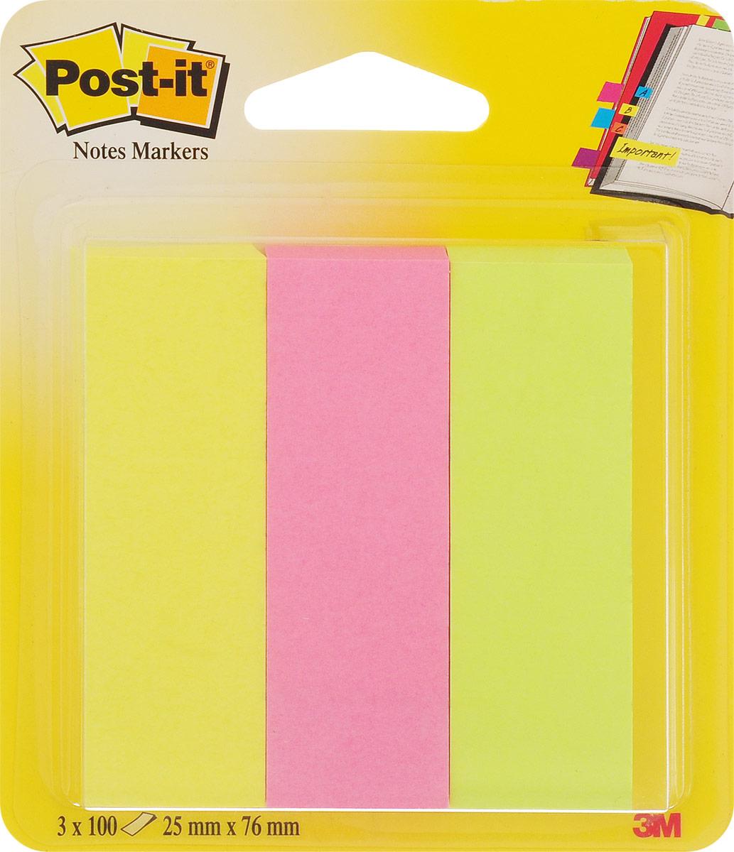 Post-it Закладки самоклеящиеся цвет желтый розовый салатовый 300 шт671-3_жёлтый,розовый,салатовыйЗакладки самоклеящиеся Post-it представлены в трех цветах. Помогают ориентироваться в книгах, учебниках, тетрадях. Хорошо впитывают чернила - можно делать отметки. Не оставляют грязных клейких следов на странице. Закладки экологичны для окружающей среды, так как изготовлены из вторично переработанной бумаги.В упаковке 300 штук.