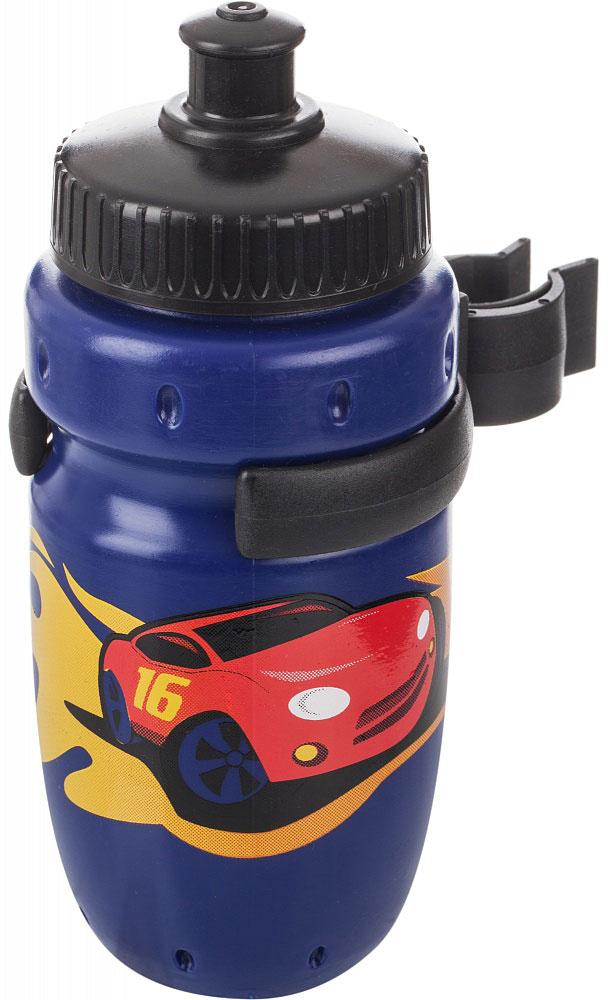 Фляга велосипедная детская Cyclotech, с держателем, 350 мл. CBS-1BNCBS-1BNДетская питьевая фляга Cyclotech выполнена из пищевого пластика и дополнена оригинальными рисунками. Фляга снабжена креплением на руль.