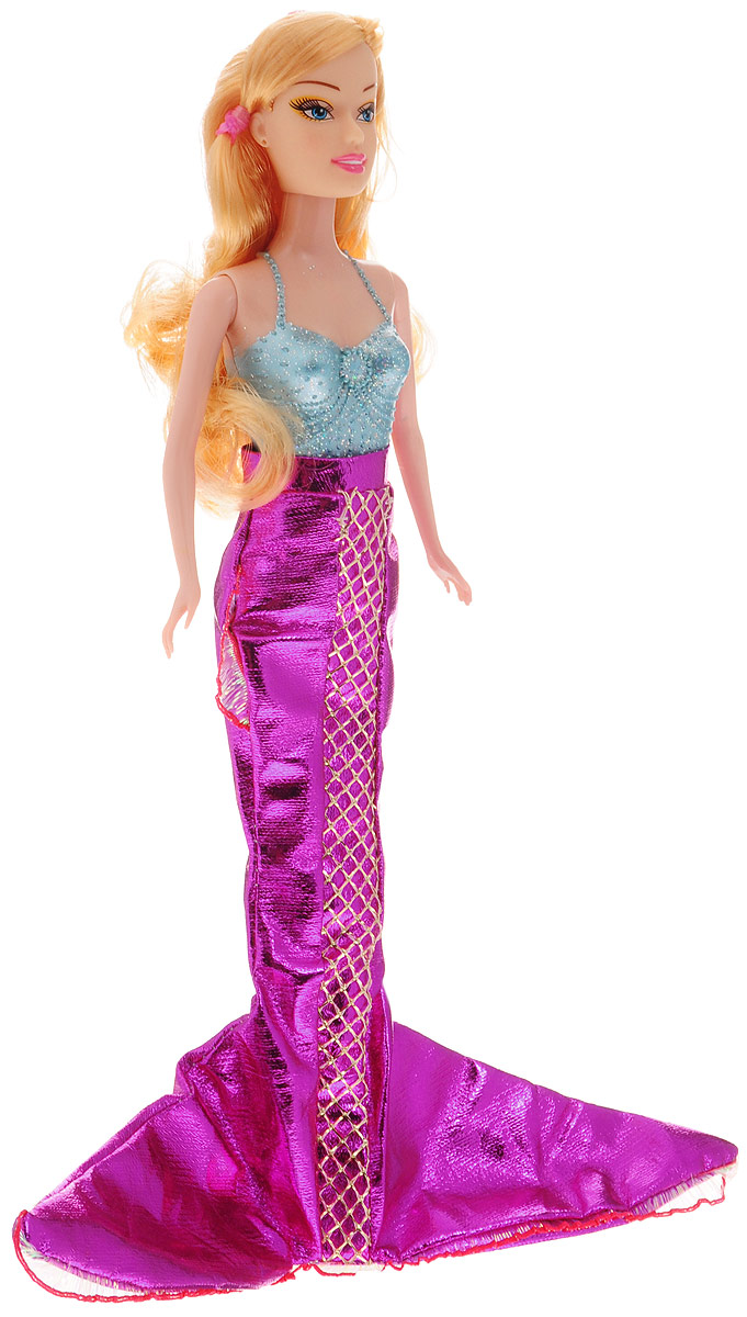 Veld-Co Кукла Русалка цвет плавника фиолетовый
