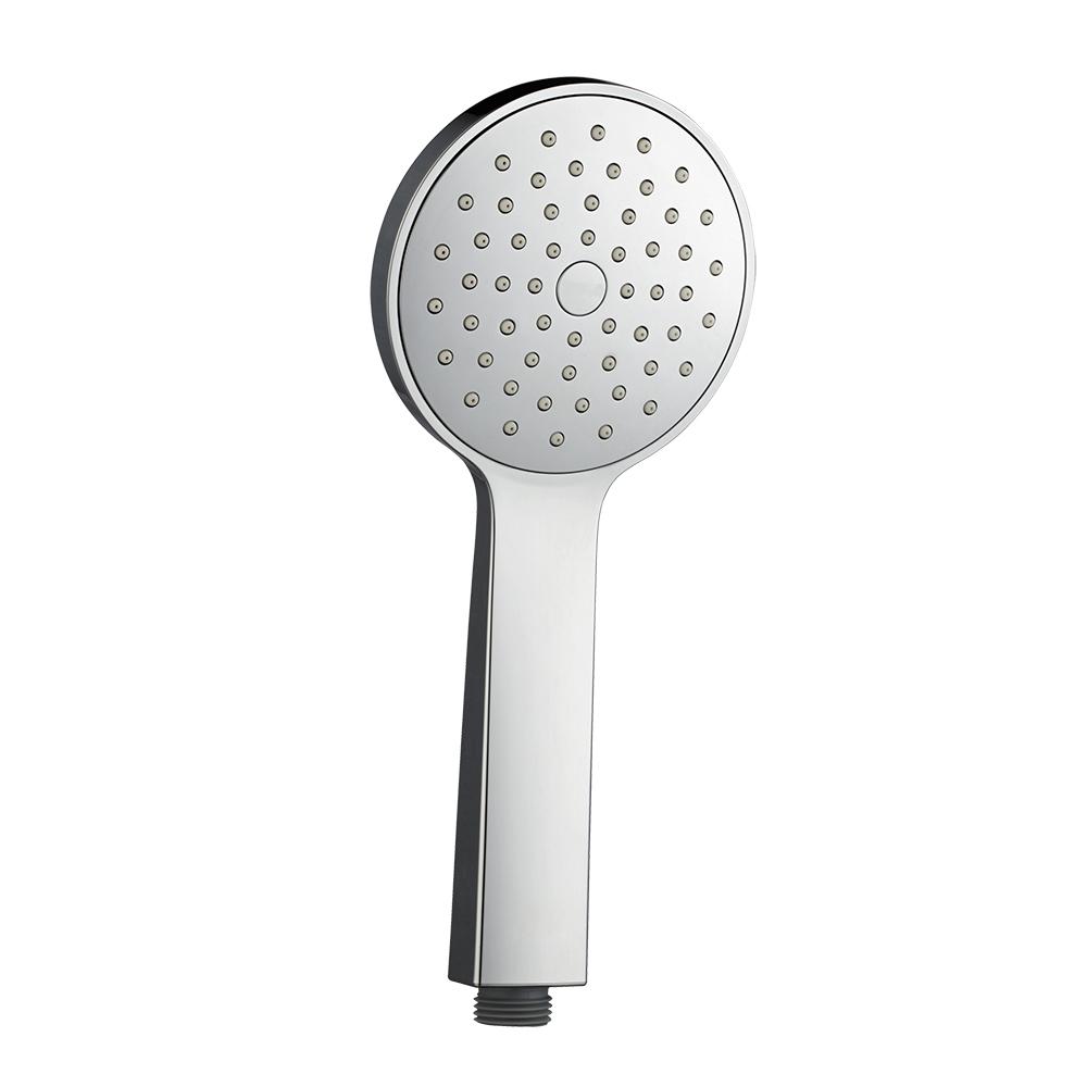 Лейка душевая Iddis. 0401F00i18BL505Лейка для душа Iddis изготовлена из ABS-пластика, высокопрочного и легкого материала, с надежным никель-хромовым покрытием, которое гарантирует идеальный зеркальный блеск и защиту изделия на долгий срок. В лейке предусмотрена система легкой очистки Easy Clean, которая позволяет убрать известковый налет с форсунок одним движением пальца.Диаметр лейки: 105 мм.