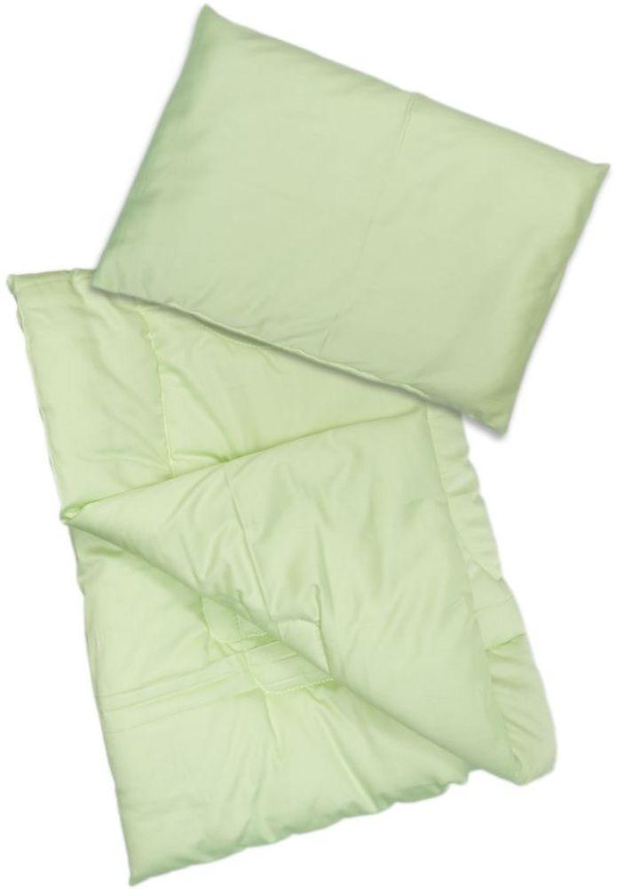 Сонный гномик Комплект в кроватку Алоэ Вера 2 предмета цвет светло-зеленый - Детский текстиль