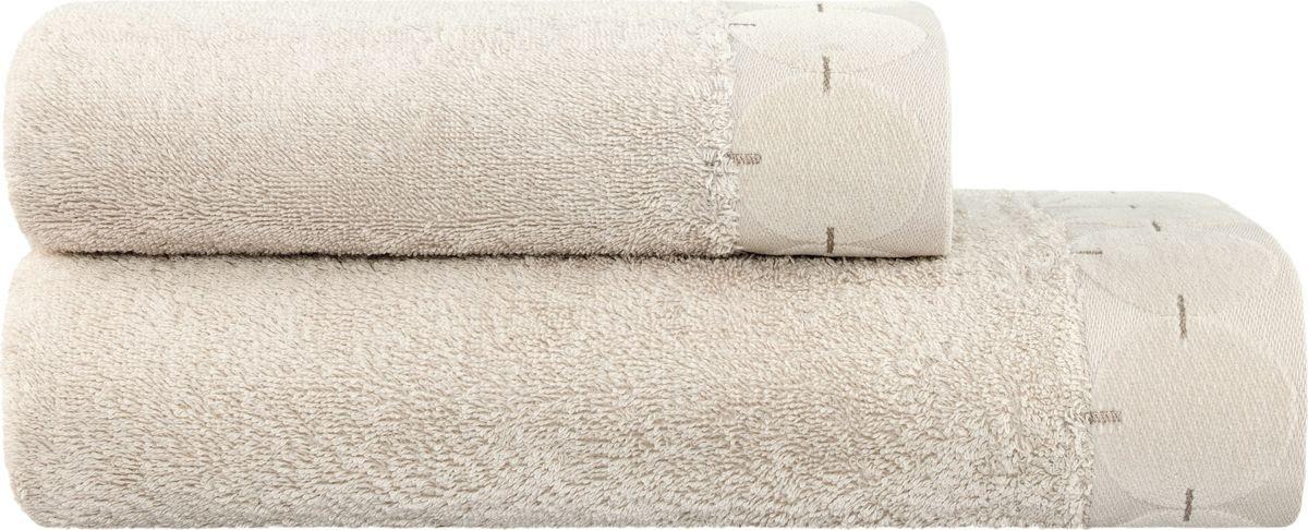 Набор полотенец Togas Орландо, цвет: светло-серый, 2 шт68/5/2Полотенца Togas Орландо из высококачественного хлопка с добавлением бамбукового волокна имеют необыкновенно мягкую и нежную структуру. В набор входят два полотенца. Бамбуковое волокно является экологически чистым натуральным материалом, великолепно впитывающим влагу. Эти полотенца будут радовать вас и ваших близких долгое время своим эффектным и стильным внешним видом, сохраняя при этом свои уникальные свойства, первоначальный цвет и размер.Такой комплект полотенец украсит собой любую ванную комнату, а также станет отличным подарком к торжеству.