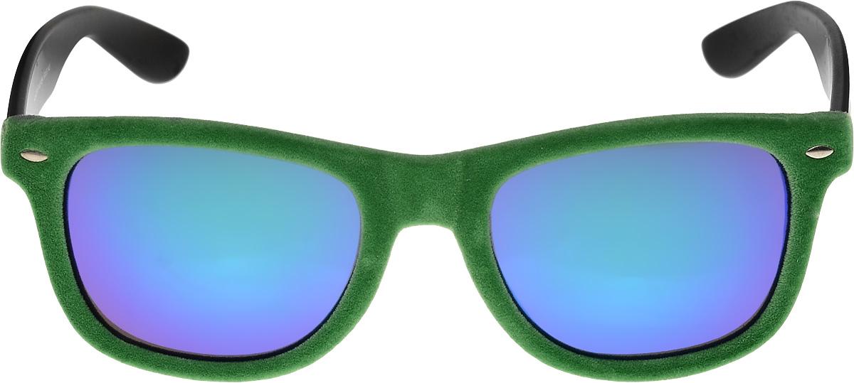 Очки солнцезащитные женские Vittorio Richi, цвет: зеленый. ОС9051сW03-654/17fINT-06501Очки солнцезащитные Vittorio Richi это знаменитое итальянское качество и традиционно изысканный дизайн.