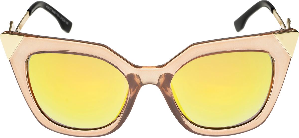 Очки солнцезащитные женские Vittorio Richi, цвет: золотистый. ОС9127с448-719-1/17fINT-06501Очки солнцезащитные Vittorio Richi это знаменитое итальянское качество и традиционно изысканный дизайн.