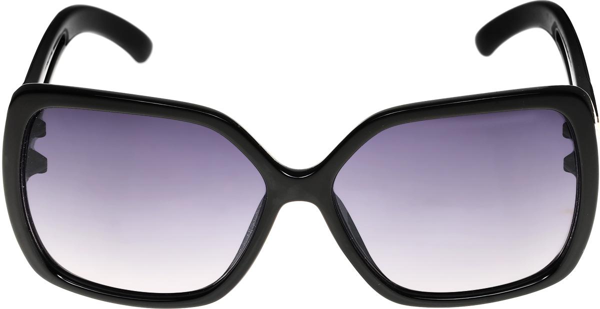 Очки солнцезащитные женские Vittorio Richi, цвет: черный. ОС4136c10-637-1/17fINT-06501Очки солнцезащитные Vittorio Richi это знаменитое итальянское качество и традиционно изысканный дизайн.