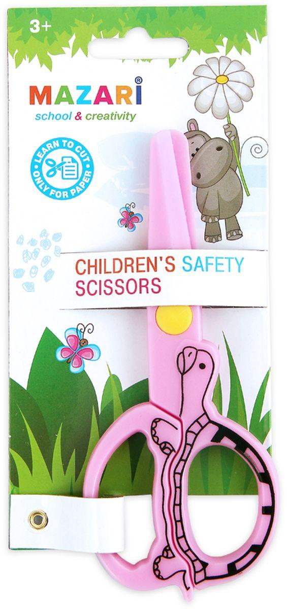 Mazari Ножницы детские цвет розовый 12 смPP-203Детские ножницы Mazari выполнены из 100% пластика. Они станут прекрасным помощником для ваших детей!Изделие выполнено в ярком цвете. Ножницы предназначаются для резки бумаги.