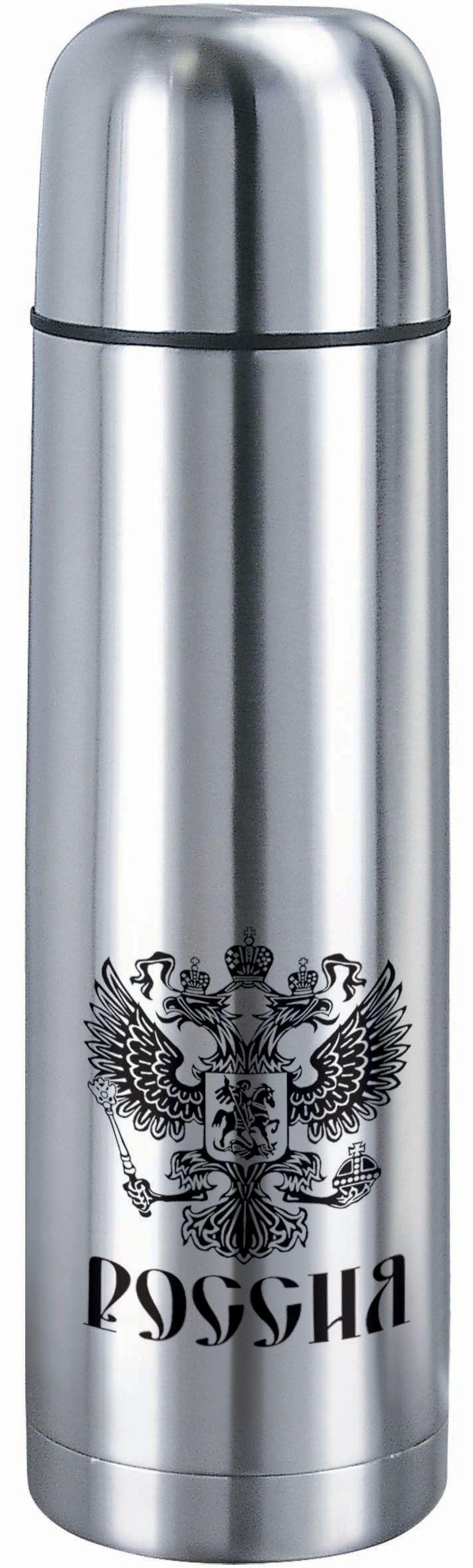 Термос Bekker, 0,5 л. BK-4117VT-1520(SR)Термос Bekker выполнен из качественной нержавеющей стали, которая не вступает в реакцию с содержимым термоса и не изменяет вкусовых качеств напитка. Двойная стенка из нержавеющей стали сохраняет температуру ваших напитков до 24 часов.Вакуумный закручивающийся клапан предохраняет от проливаний, а удобная кнопка-дозатор избавит от необходимости каждый раз откручивать крышку. Крышку можно использовать как чашку. Данная модель термоса прочная, долговечная и в тоже время легкая.Стильный металлический термос понравится абсолютно всем и впишется в любой интерьер кухни.Не рекомендуется мыть в посудомоечной машине.