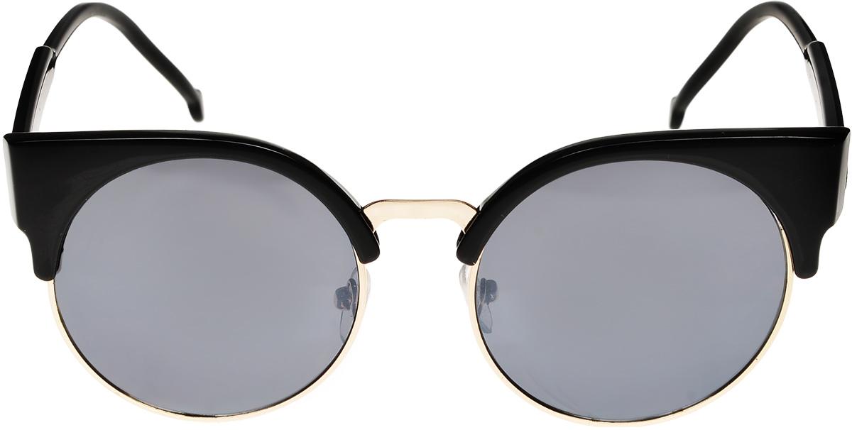 Очки солнцезащитные женские Vittorio Richi, цвет: черный. ОС971016с1/17fBM8434-58AEОчки солнцезащитные Vittorio Richi это знаменитое итальянское качество и традиционно изысканный дизайн.