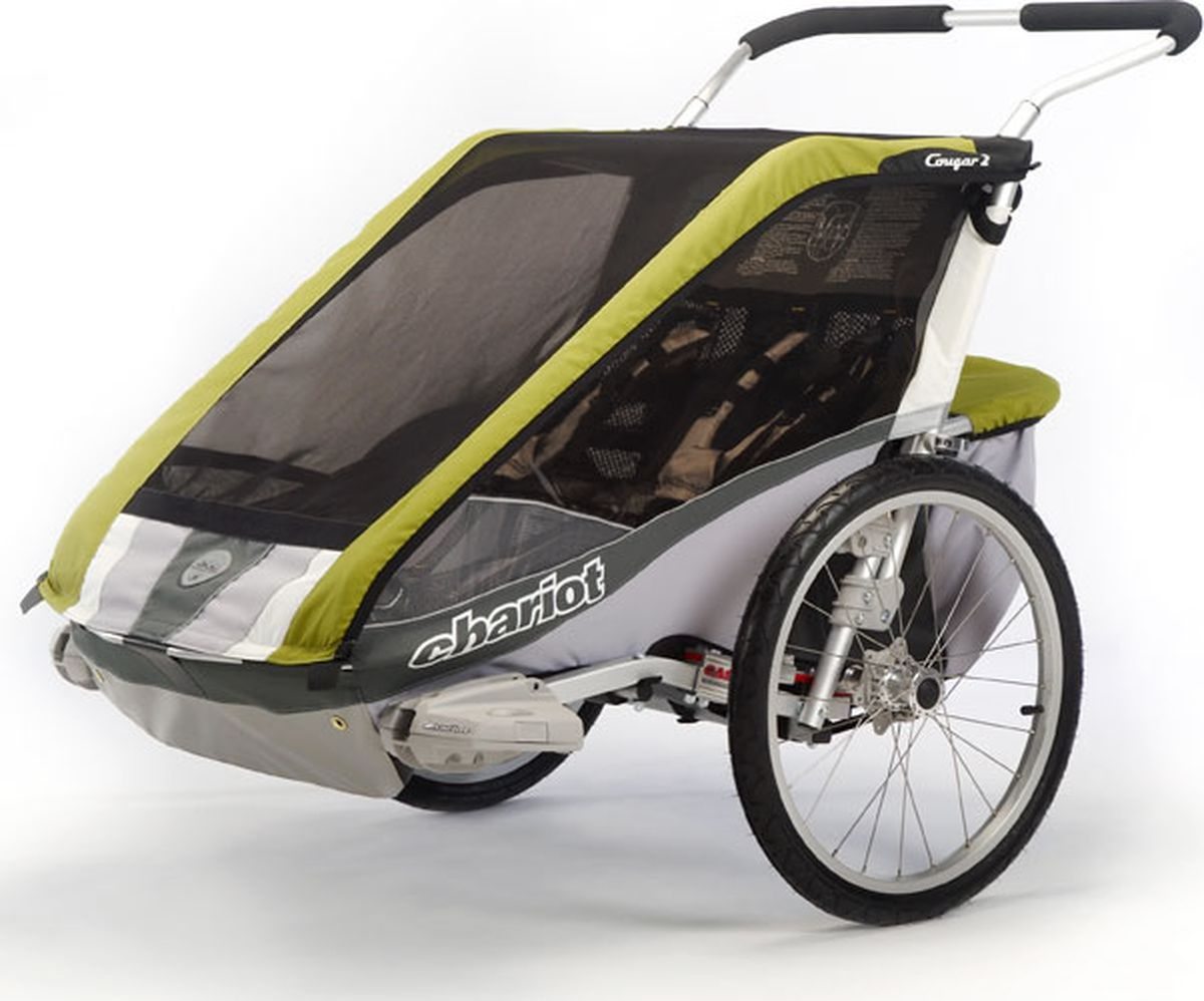 Thule Коляска-трансформер Chariot Cougar 2 цвет авокадо - Коляски и аксессуары